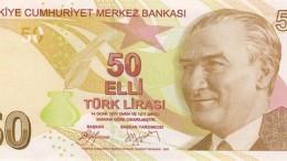 Billete de 50 liras turcas