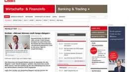 Pantallazo Cash - Ex CEO Credit Suisse