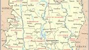 Costa de Marfil mapa