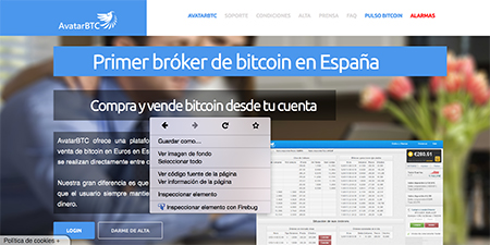 AvatarBTC web