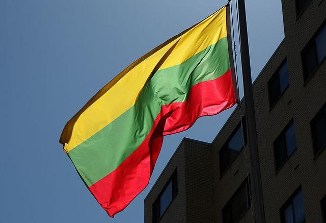 Lituania bandera