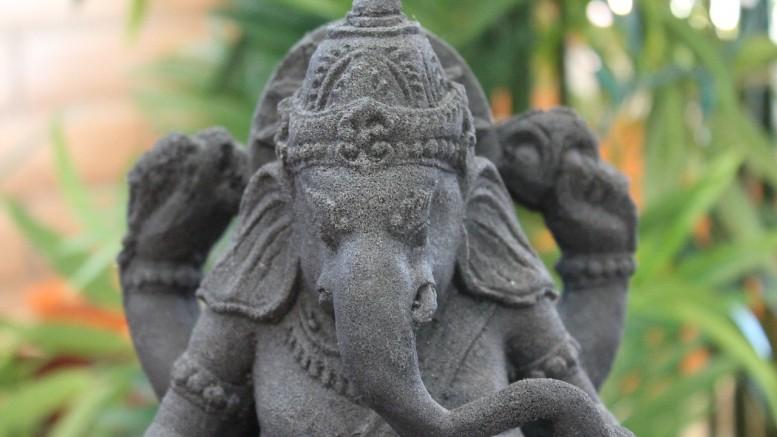 Dios elefante India