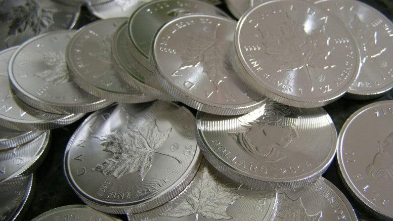 Monedas de plata Maple Leaf Canada
