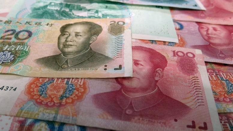 Billetes de yuanes