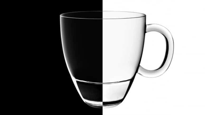 Contraste blanco y negro