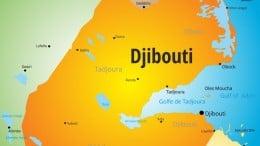 Djibouti mapa del pais Ybuti