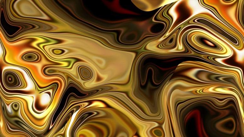 Petroleo con color dorado
