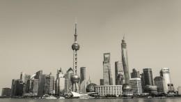 Pudong en Shanghai China
