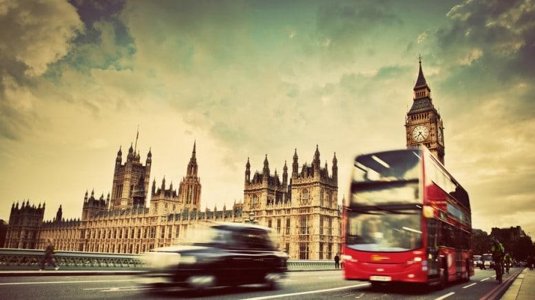 Londres con taxi y bus