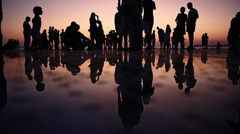 Sombras de gente