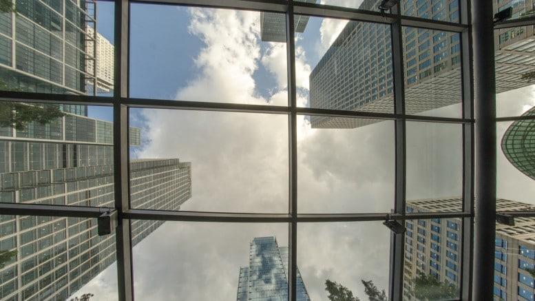 Techo de rascacielos en Londres