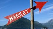 Cartel de mercado al alza