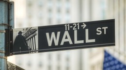 Cartel de Wall Street Nueva York