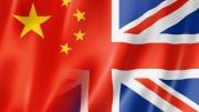 Bandera China Reino Unido