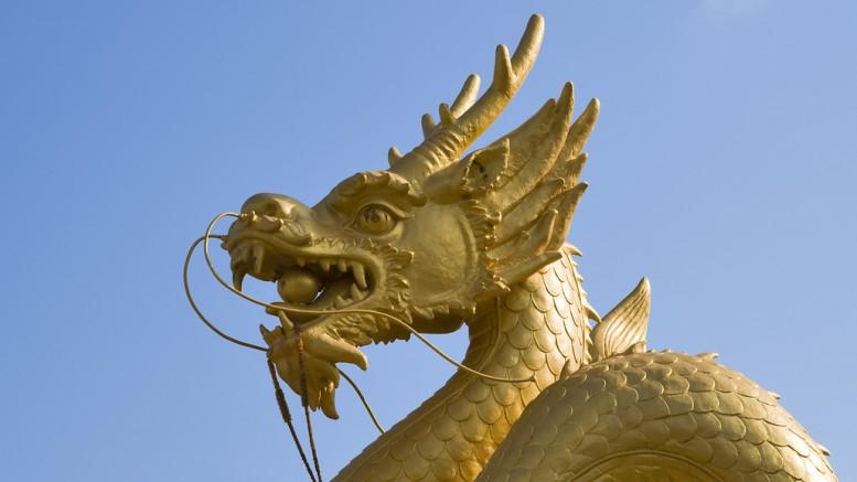 Dragon dorado