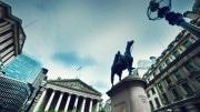 Bank of England, Royal Exchange estatua Wellington Londres