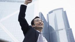 Hombe banquero chino