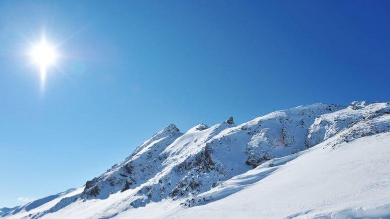 Montañas en Suiza Alpes
