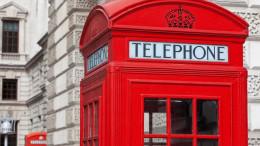 Cabina de telefono de Londres