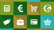 Euro y simbolos de finanzas