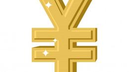 Simbolo del yuan dorado
