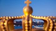 Estocolmo Suecia con corona