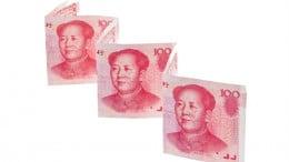 Billetes de Yuan chinos
