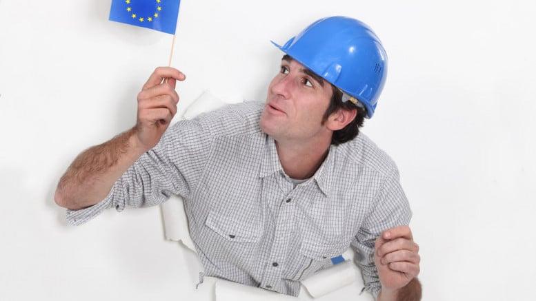 Constructor con bandera europea
