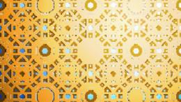 Patron de oro islamico