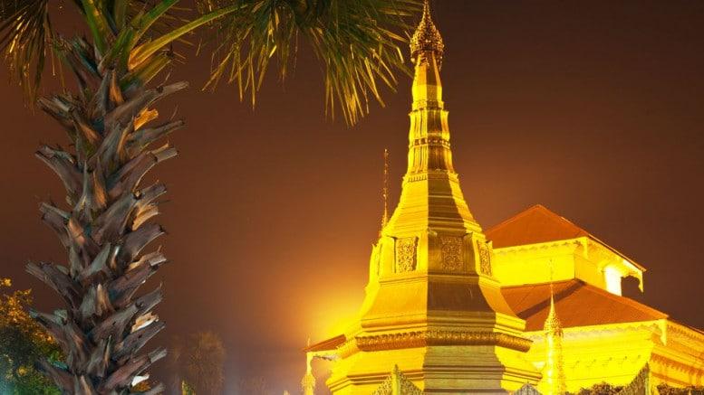 Pagoda en Myanmar