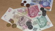 billetes y monedas sudafricanas rands